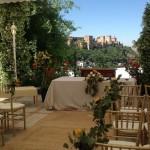 Ceremony Set Up La Chumbera