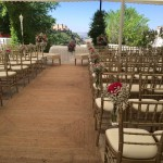 La Chumbera Ceremony terrace 1