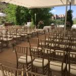 La Chumbera Ceremony terrace