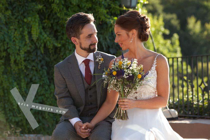 michelle amp tom�s wedding at the carmen de los chapiteles