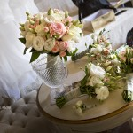 Roses and Lisianthus in soft pink. Weddings Granada, Spain.