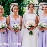 The Bride & Bridesmaids. Weddings, Cortijo del Marqués, Granada, Spain.