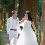 Walking in the Alhambra Gardens