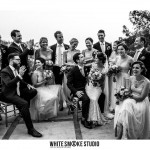 The Bride & Groom with their Wedding Guests