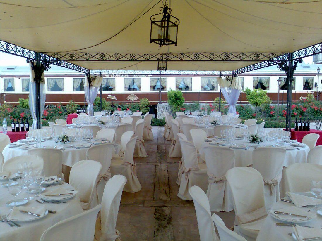 Al-Andalus Expreso Vintage Train Wedding Venue Granada, Spain