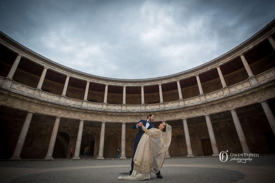 Wedding Photo Shoot in the Alhambra, AWOL Granada, Wedding Planner, Spain