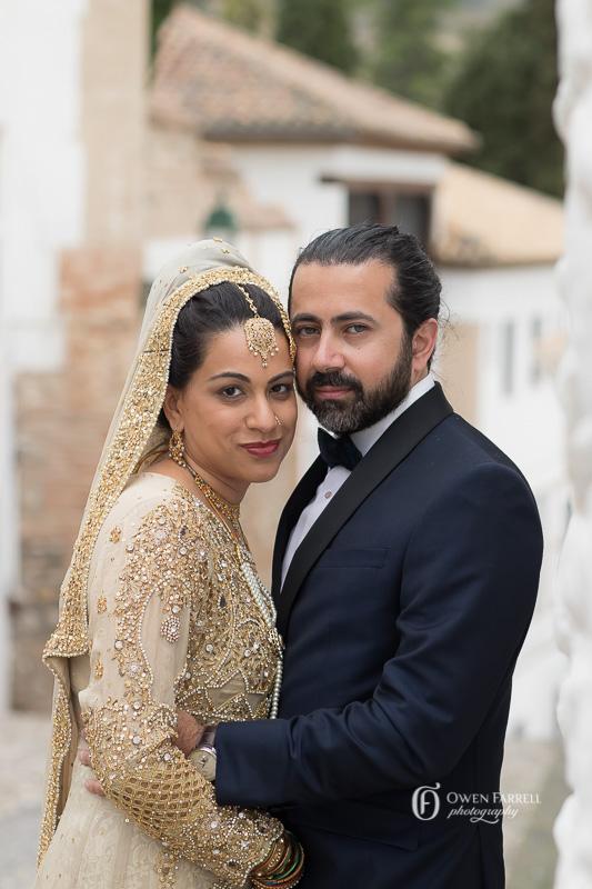 Wedding Photo Shoot in the Albayzin, AWOL Granada, Wedding Planner, Spain