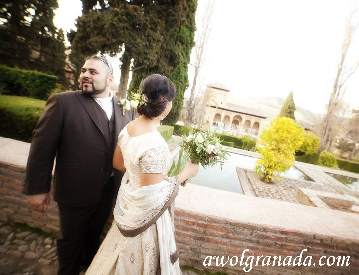Alhambra Photo Shoot, AWOL Granada, Wedding Planner, Spain