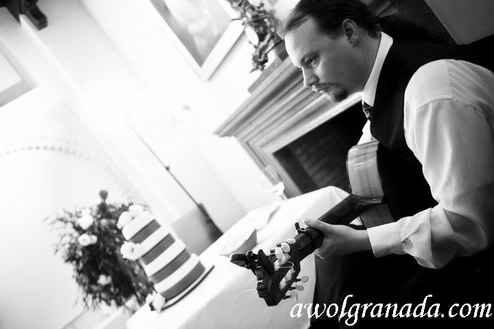 Cake & Guitar, AWOL Granada, Wedding Planner, Spain