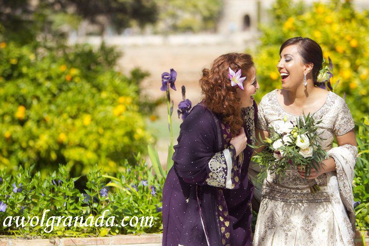 Happy Bride, AWOL Granada, Wedding Planner, Spain