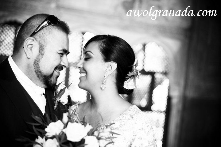 Just Married, AWOL Granada, Wedding Planner, Spain