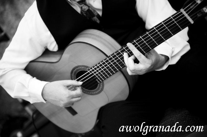 Spanish Guitarist, AWOL Granada, Wedding Planner, Spain