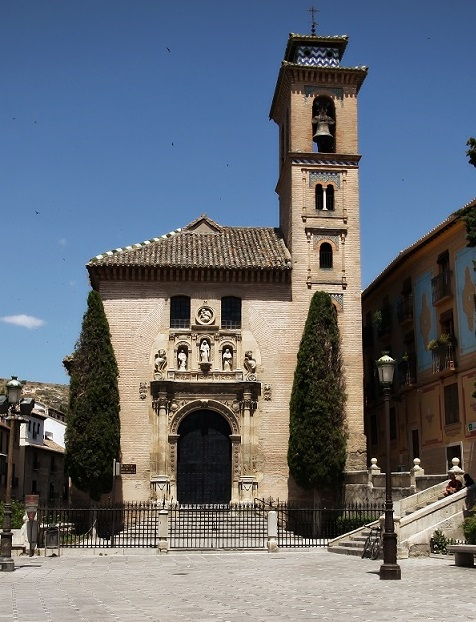 Santa Ana Church, Granada, Spain