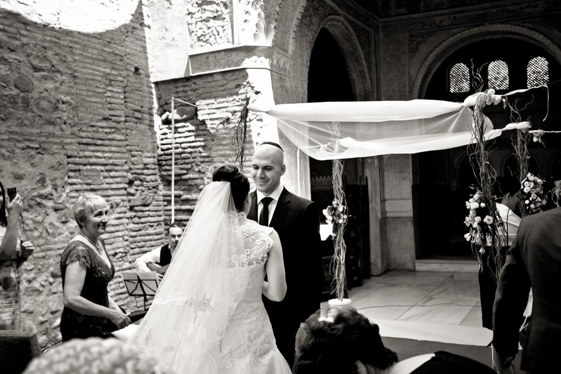 Traditional Jewish Ceremony at the Parador, Granada, Spain