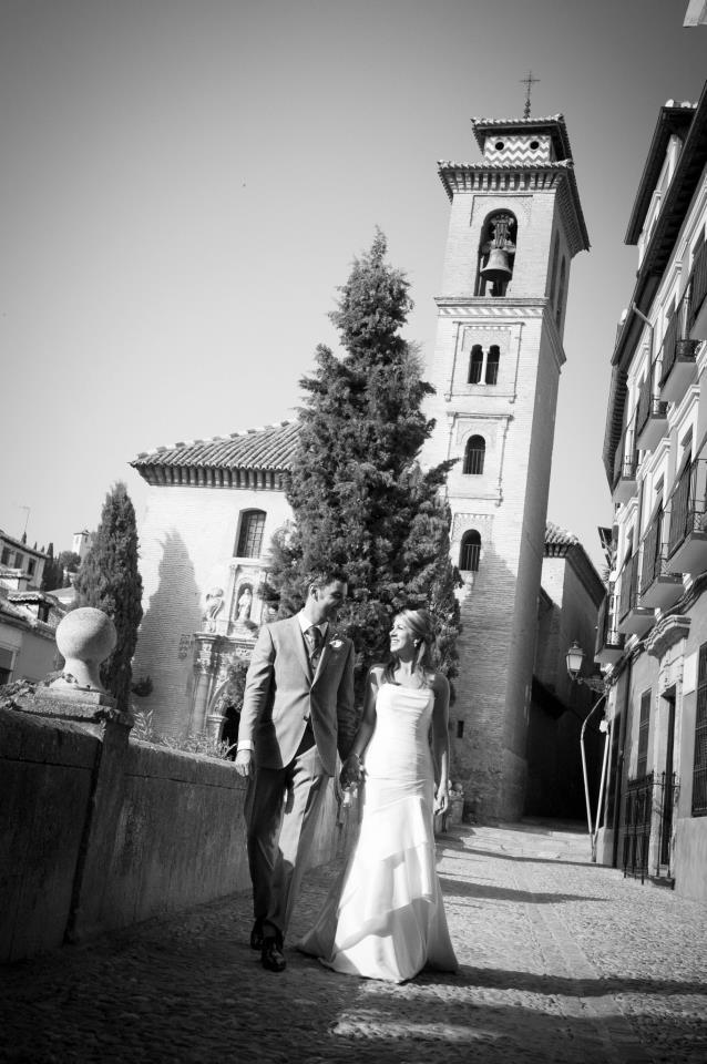 Santa Ana Church Granada, Spain