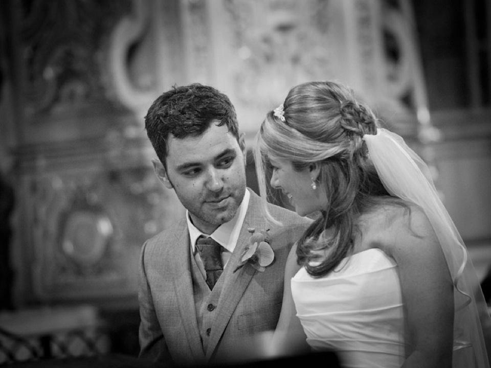 Wedding Ceremony in the Santa Ana Church, Granada, Spain