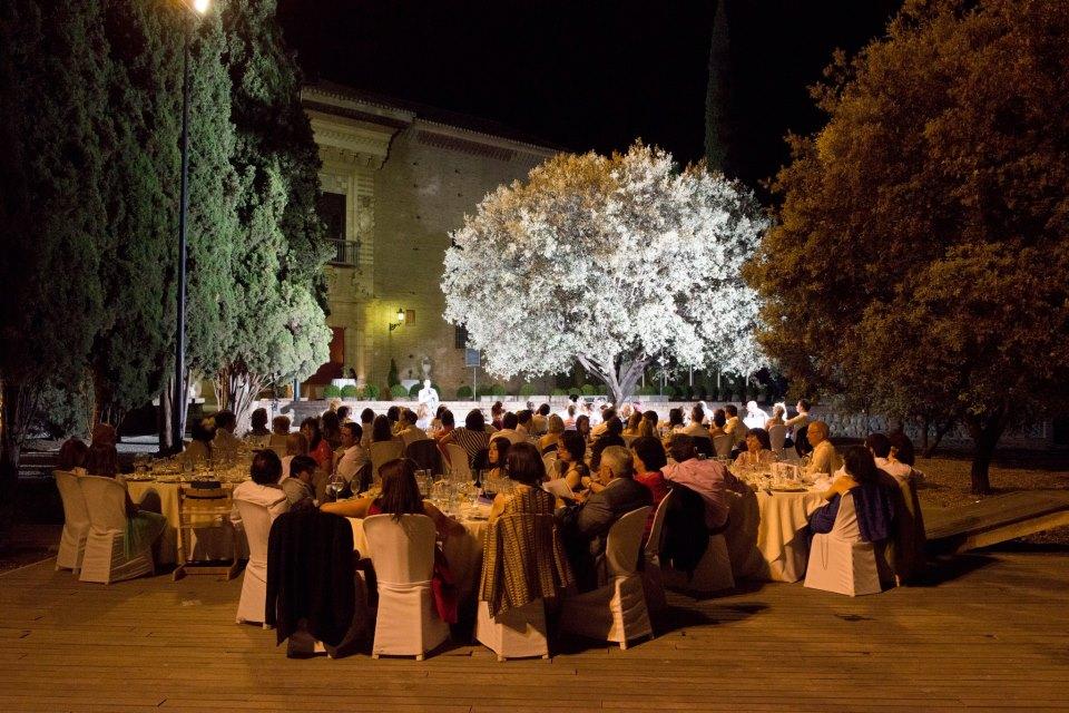 Wedding breakfast at the Palacio de los Cordova, Granada, Spain