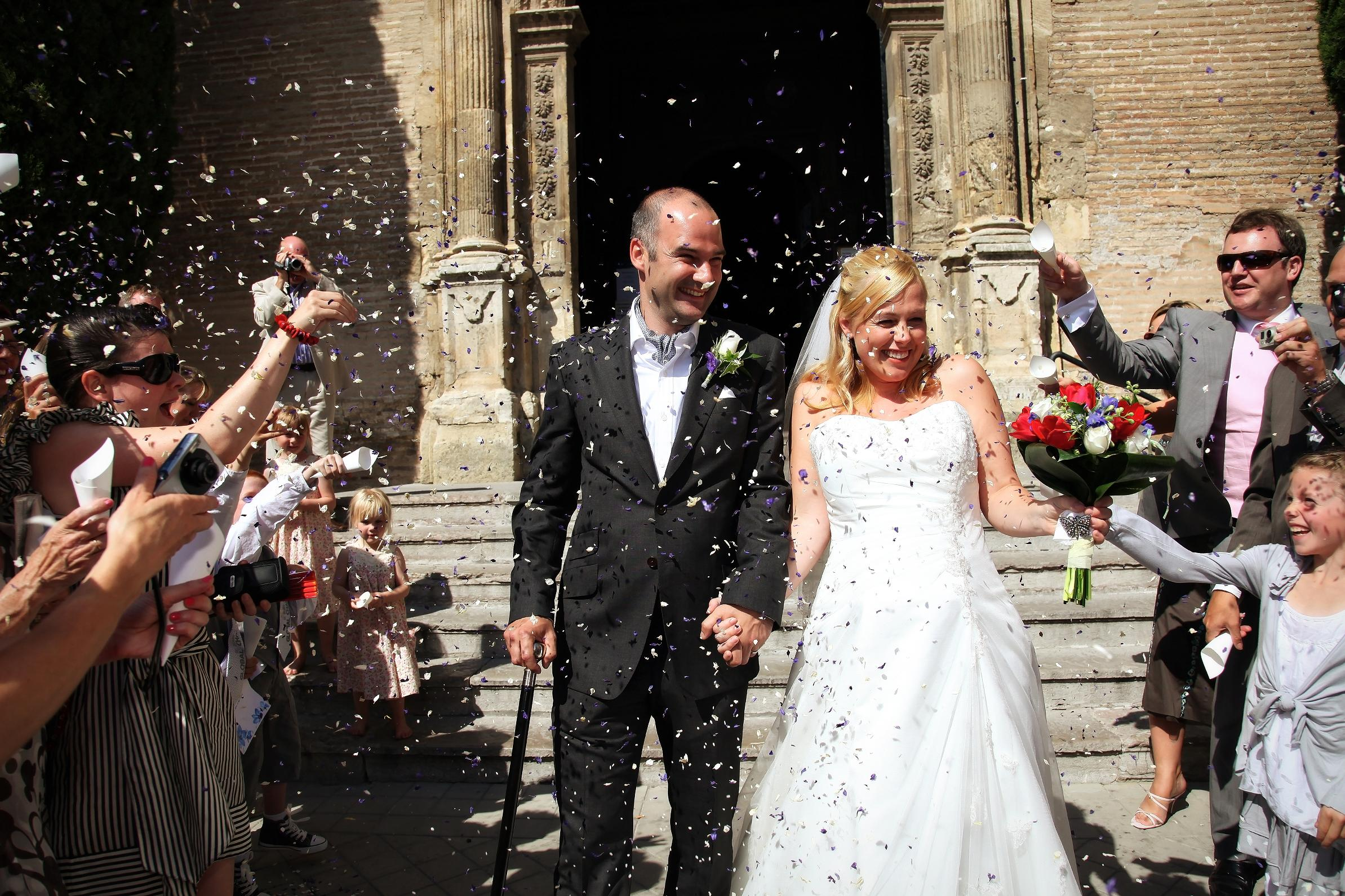 Wedding In Spanish.Spanish Wedding Customs Traditions Awol Granada A Wedding Of A