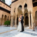 Wedding Photos in the Alhambra