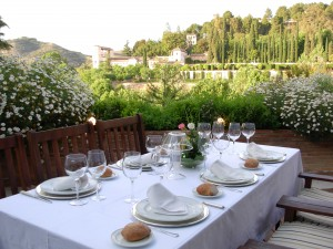 Banquete terraza