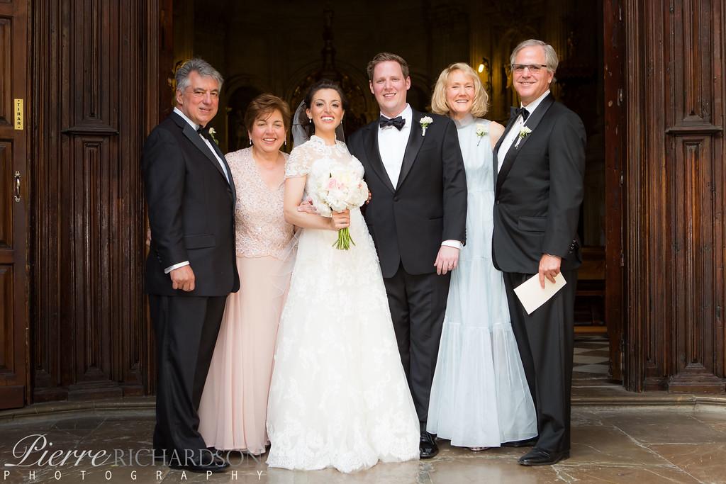 Multi national family at Wedding in Granada, Spain