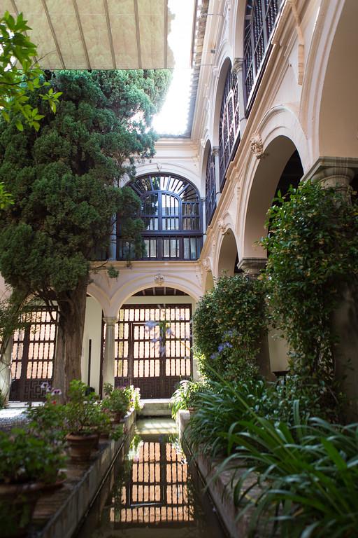 The Parador Hotel, Granada, Spain