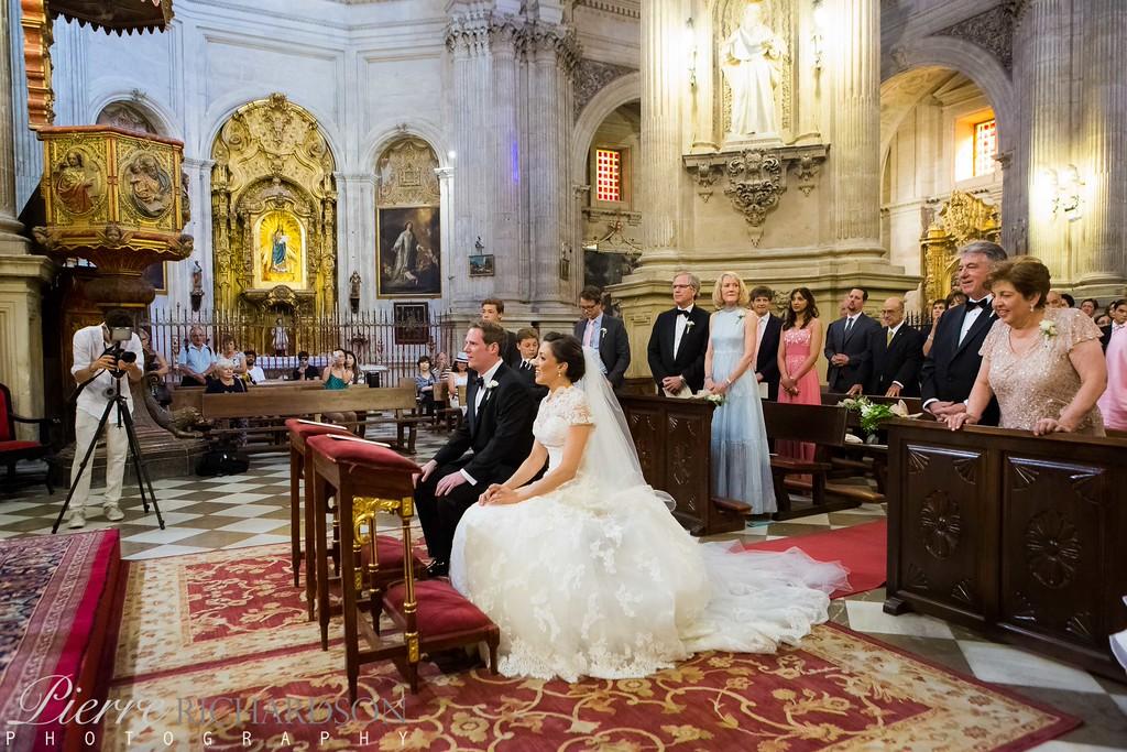 Wedding Ceremony, Granada, Spain