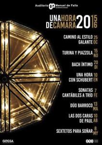 Music, concerts in Granada, Spain . March 2016