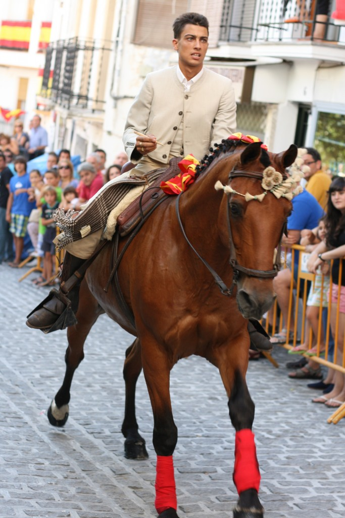 Spanish Fiesta in Guejar Sierra, Granada, Spain