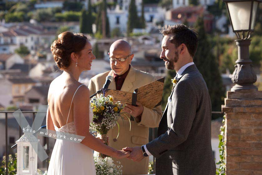Beautiful Ceremony In Granada, Spain