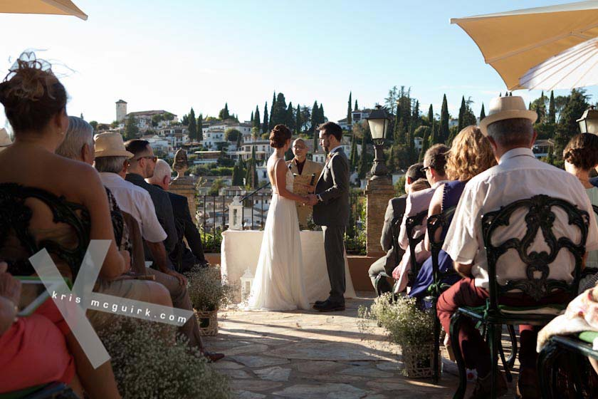 Wedding Ceremony In Carmen De Los Chapiteles