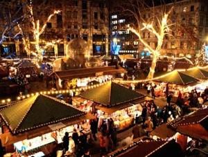 Christmas Market in Bib Rambla, Granada