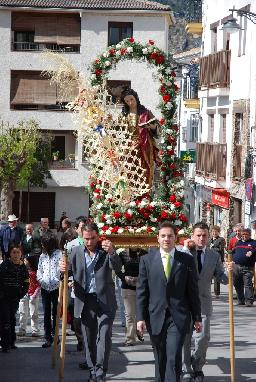 Celebrating The Easter In Guejar Sierra