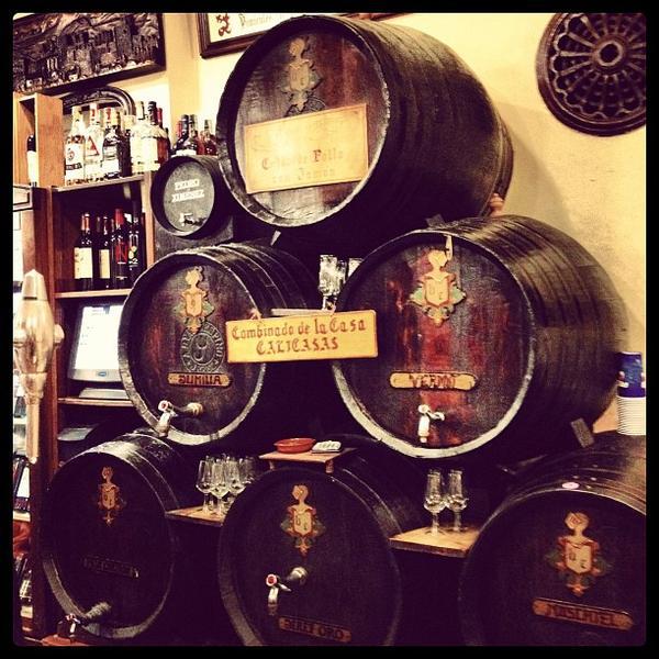 Bars In Granada, Spain