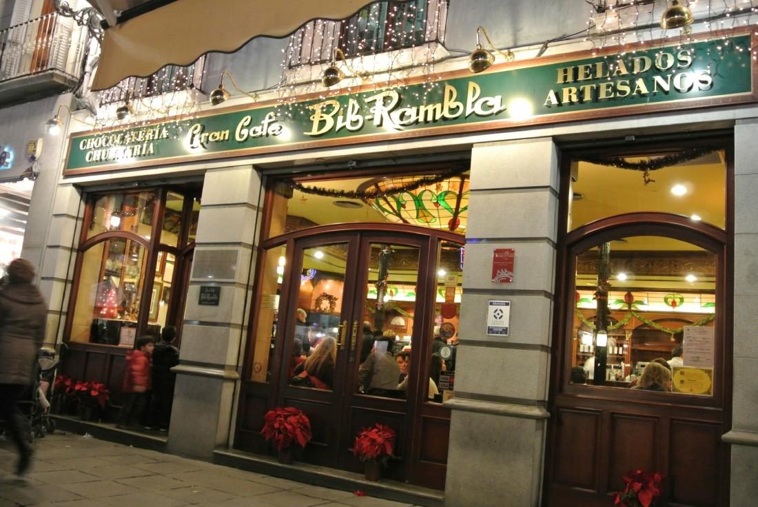Gran Cafe Bib Rambla, Granada, Spain