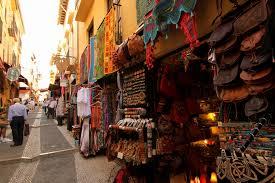 Morroccan Market, Granada, Spain