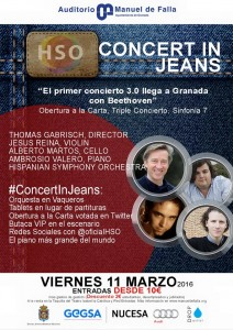 Concert in Jeans