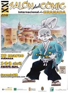 Comic Festival in Granada, Spain