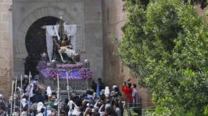 Santa María de la Alhambra, Semana Santa