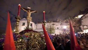 The Gypsy Procession, Easter Holy Week, Granada, Spain