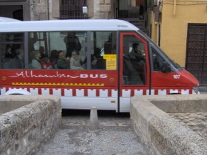 Alhambra and Albaicin Bus