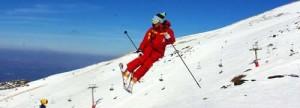 Skiing in Granada