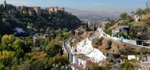 View of Granada from Sacromonte