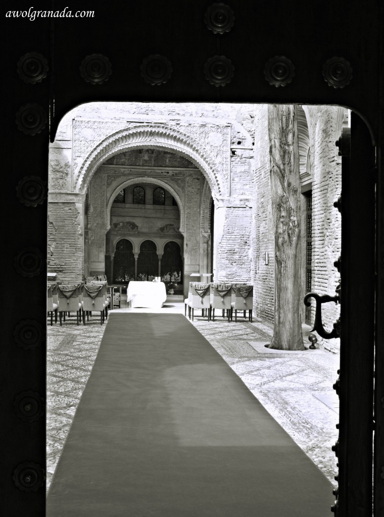 Parador Chapel, weddings, Granada, Spain.