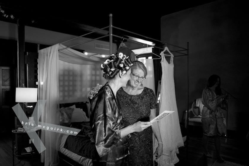 The Bride and her Mum getting ready. Weddings, Hotel Palacio de Santa Paula, Granada, Spain.