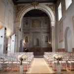 The Chapel at Hotel Palacio de Santa Paula, weddings, Granada, Spain.