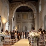 The Chapel. Hotel Palacio de Santa Paula, weddings, Granada, Spain.