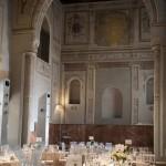 The tables. Hotel Palacio de Santa Paula, Weddings, Granada, Spain.