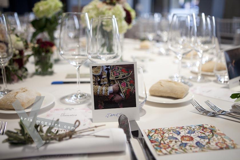 The Bride and the Groom´s table. Hotel Palacio de Santa Paula, Weddings, Granada, Spain.