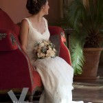 The Bride. Hotel Palacio de Santa Paula, Weddings, Granada, Spain.
